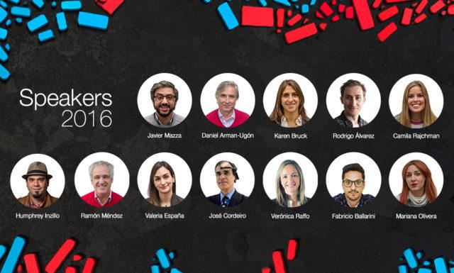Presentamos a los Speakers 2016